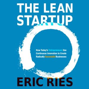 The Lean Startup Audiobook's Cover