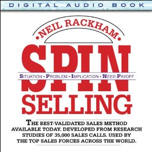 Spin Selling Audiobook's Cover