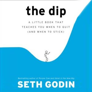 The Dip Audiobook's Cover