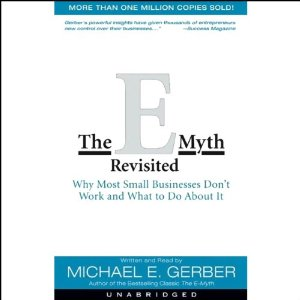 The E-Myth Revisited Audiobook's Cover