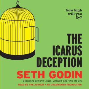 The Icarus Deception Audiobook's Cover