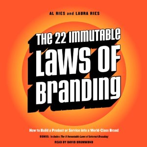 The 22 Immutable Laws Of Branding Audiobook's Cover